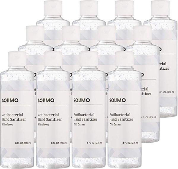 亚马逊自营品牌70%乙醇无味洗手液 8oz 12瓶