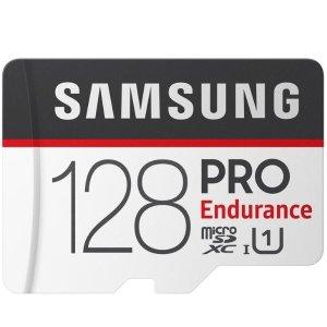 $29.99 (原价$39.99)SAMSUNG 128GB PRO Endurance 高耐久存储卡