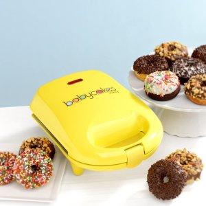 """$25.39(原价$33.63)Babycakes 甜甜圈制作机迷你版 亲手""""蜜""""制甜蜜幸福"""