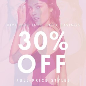 30% OffNew Arrivals @BCBGeneration