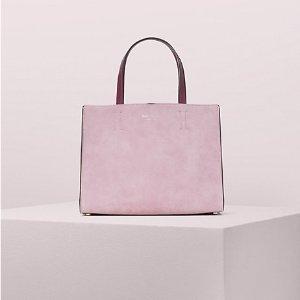 Kate Spadesam suede medium satchel
