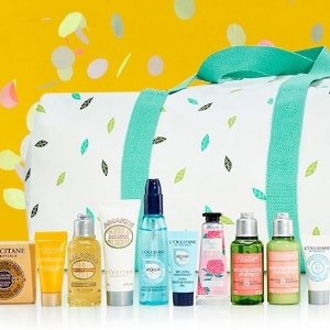 FREE 11-Piece Beauty Giftwith Only $111 Purchase @ L'Occitane