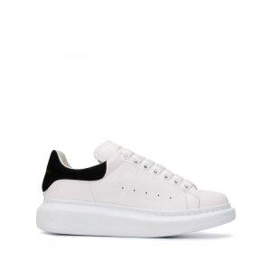 Alexander McQueenOversized Leather 小白鞋