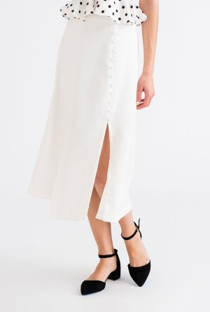 lily skirt - ivory