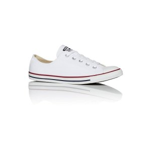 Converse白色帆布鞋