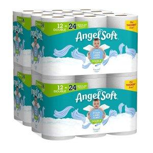 $22.99Angel Soft 超柔软双层卫生纸48卷