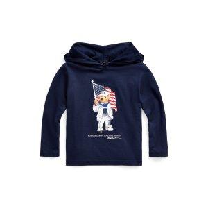 Ralph Lauren奥运美国队系列小童连帽衫