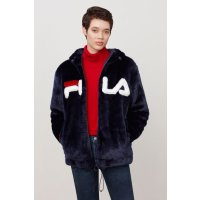 Fila dolly oversized拉链外套