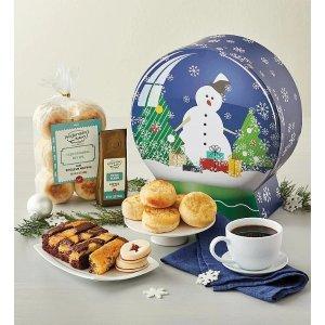 Holiday Snow Globe Gift Box