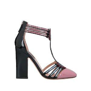 Valentino Garavani粗跟爱心凉鞋