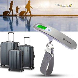 折后€8.49 再也不怕行李超重MYCARBON 手持便携电子行李秤 精准测量安心去机场