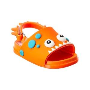 Mini melissa9、10码 女童  Dino沙滩凉鞋
