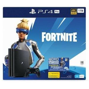 PlayStationPlayStation 4 1TB Pro Slim Fortnite Console