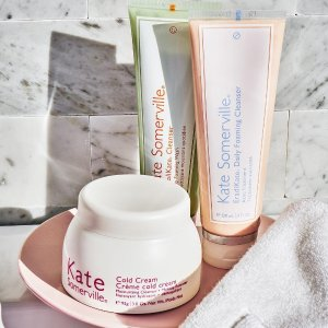 Receive a free Mix & Match Moisturizer Trio ($90 value)with any $120 purchase @ Kate Somerville