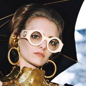 低至$203限时免邮:Gucci 精选超时髦墨镜热卖