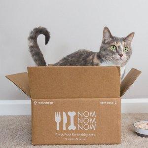 首单订阅享7折NomNomNow 高级宠物鲜食订餐服务 给爱宠更健康的饮食