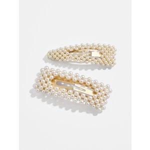 BaubleBar珍珠发夹套装