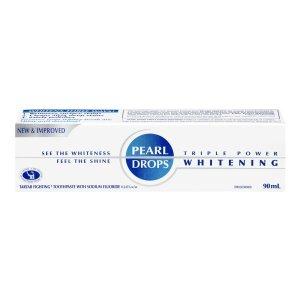 $5.49 贝嫂维多利亚爱用Pearl Drops 抛光美白牙膏 90ml 牙齿亮一阶不是梦