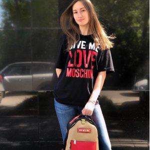 低至2折 $49收卡通T恤LOVE Moschino 美衣闪购热卖 玩趣潮人最爱