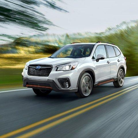 起售价$25,2702019 Subaru Forester 森林人 SUV