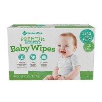 Member's Mark Premium Scented Baby Wipes (1152 ct.) 宝宝湿巾