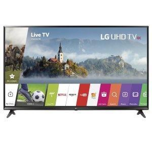 $549.99 (原价$661.59)闪购:LG 49UJ6300 49寸4K超高清智能电视