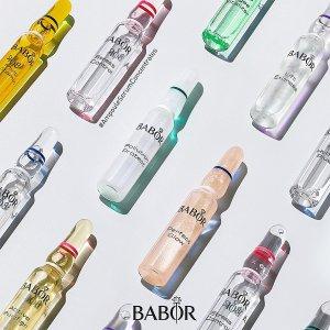 限时7.4折 €14.96收爆款玻尿酸安瓶上新:BABOR 芭宝 安瓶鼻祖热促 保湿抗老都在线 换季必备