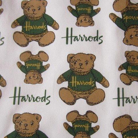 变相7.5折 床头暖心小宝贝Harrods 超可爱小熊2件才£30 收羽翼卫兵、警察等爆款