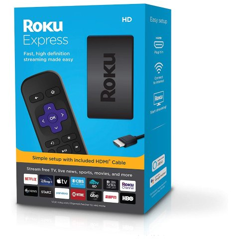 Roku Express HD Streaming Media Player 2019