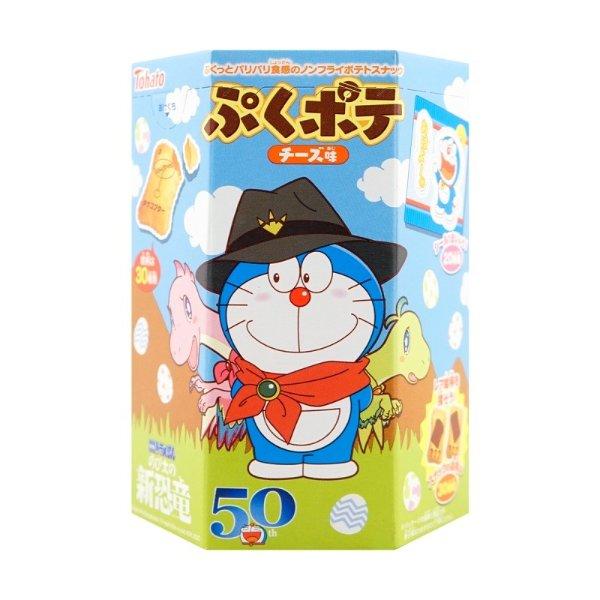 TOHATO桃哈多 哆啦A梦夹心饼干 芝士味 23g