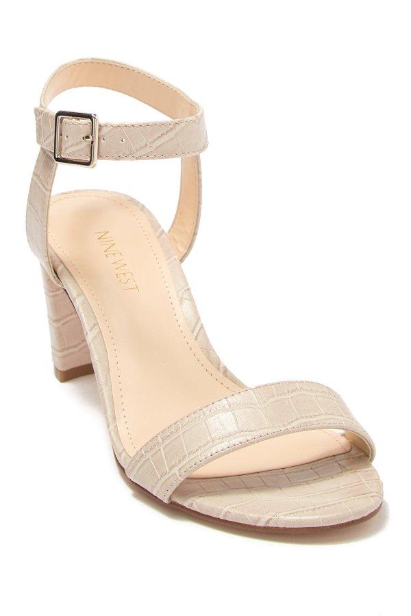 Pruce Embossed 高跟鞋
