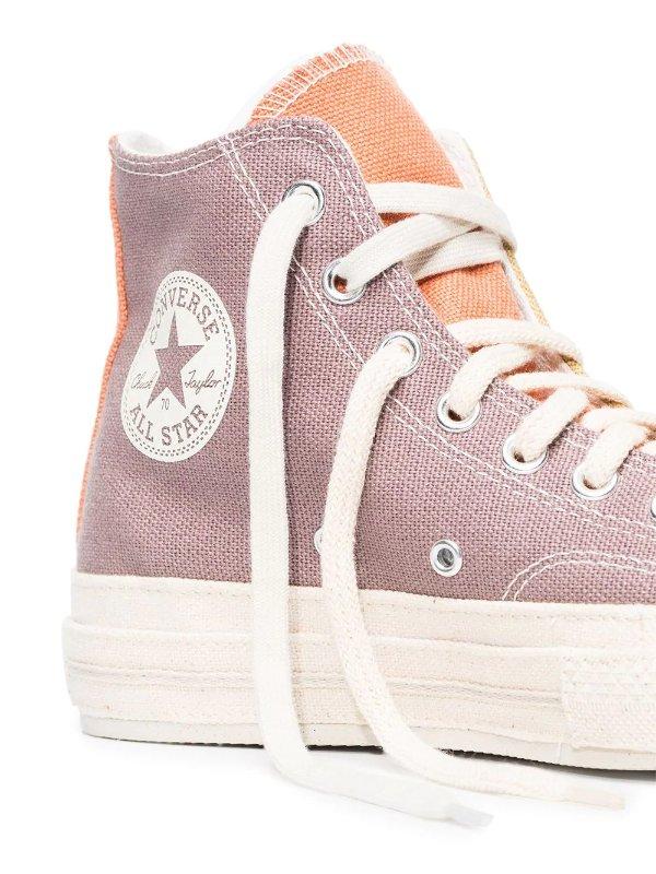 拼色帆布鞋 6码