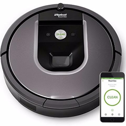 史低价:iRobot Roomba 960 高端旗舰款智能扫地机器人