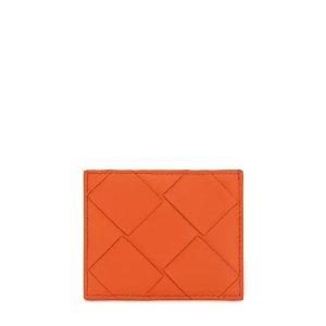 Bottega Veneta满额85折格纹钱包