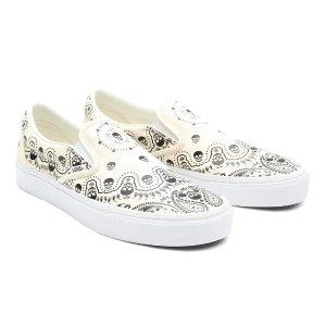 Vans新人首单8折Bandana 平底鞋 奶白色