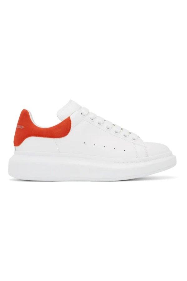 橘尾小白鞋
