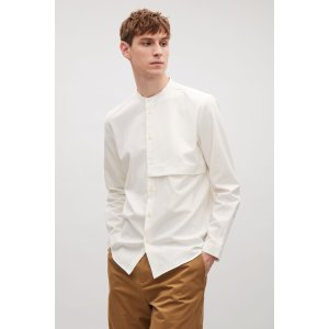 Grandad shirt with hidden pocket