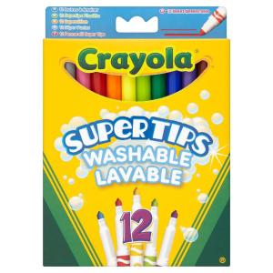 现价£2.5(原价£3.99)Crayola 可水洗12支彩笔