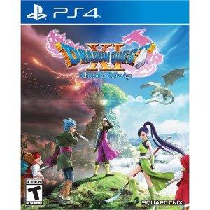 $34.99(原价$59.99)《勇者斗恶龙11》 PS4 实体版 日本国民RPG游戏