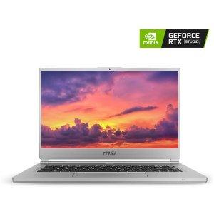 $1499.99 4K 100%sRGB 为创作而生史低价:MSI P65 Creator RTX Studio 笔电 (i7-9750H, 2060, 32GB, 1TB SSD, Win10 Pro)