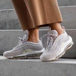 额外7.5折+包邮Nike Air Max 系列男女鞋履热卖 收马卡龙色97、黄咖喱