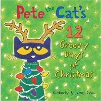 童书 Pete the Cat's 12 Groovy Days of Christmas