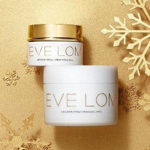 限时7折 €21收护肤2件套Winter Sale:EVE LOM 大促升级!年度史低 囤网红卸妆膏、急救面膜