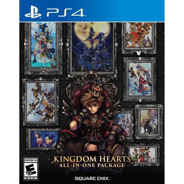 王国之心 全系列合集 PS4 实体版