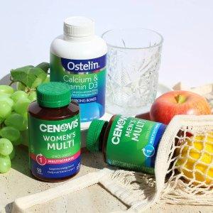 低至5.5折 swisse钙片$15澳洲保健品、维生素热卖 补充身体所需