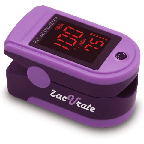 Start $16.95Zacurate Pro Series 500DL Fingertip Pulse Oximeter Blood Oxygen Saturation Monitor