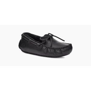 UGG皮质豆豆鞋