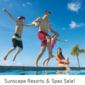 $200 Off +2 Kids Stary FreeSunscape Resorts & Spas Sale!