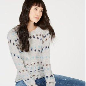 低至3折 $39.99收保暖舒适羊绒衫macys.com 精选女款毛衣、羊绒衫等超值热卖