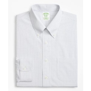 Brooks Brothers4 For $199Stretch Milano Slim-Fit Dress Shirt, Non-Iron Windowpane   Brooks Brothers